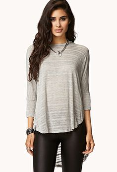 Striped Dolman Top | FOREVER 21 - 2059456298