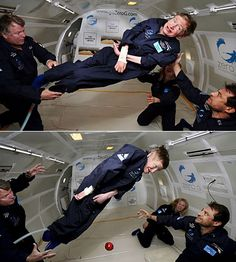 Stephen Hawking zero gravity flight images Steven Hawking zero-g space Science Humor, Science News, Professor Stephen Hawking, Physicist, Astrophysics, Big Bang Theory, Change The World, Best Funny Pictures, Science Nature