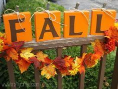DIY FALL Wood Pumpkins