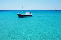 Boat in Manganari beach, Ios Mykonos, Santorini, Greece Vacation, Greece Travel, Greece Trip, Beautiful Photos Of Nature, Beautiful Places, Amazing Places, Nature Photos