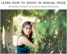 How to Shoot in Manual Mode - Get your A$$ Off Auto! Easy to understand instructions that will get you shooting in manual today. - http://www.colorvaleactions.com/blog/get-auto-shoot-manual-mode/