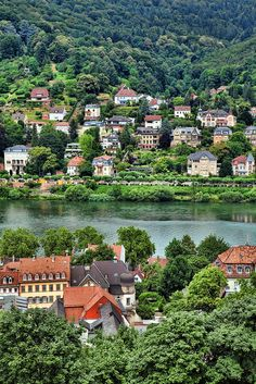 Heidelberg, Germany. My wife and I spent an evening there during our Rhine Boat Tour. We solemnly swore we would never forget this City of our dreams and background to  'Student Prince',