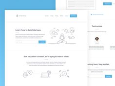 Full Stack Startups Landing Page by João Borges