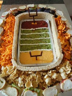 Game day food-someone has WAAAY too much time on their hands!