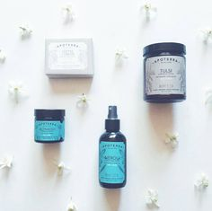 Did you know that it is the start orange blossom season? Those gorgeous white blooms smell amazing and are used to distill orange blossom water (aka neroli) which we use in our Neroli Clarifying Toner. Neroli water is astringent and antibacterial, but also hydrating! It is also great for calming the mind and reducing anxiety. You can use our toner as a facial mist for all the same benefits  Photo by amazing maker @aquariansouldesigns