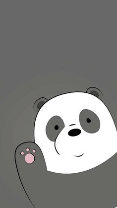 we bare bears panda Dont Touch My Phone Wallpapers, We Bare Bears Wallpapers, Panda Wallpapers, Cute Cartoon Wallpapers, Cute Panda Wallpaper, Bear Wallpaper, Kawaii Wallpaper, Ice Bear We Bare Bears, We Bear