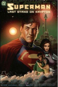 SUPERMAN: LAST STAND ON KRYPTON, ONE SHOT, FORMATO PRESTIGE, DC COMICS, 2.003. USA