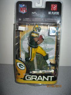 Ryan Grant McFarlane Figure RARE Variant 1097/3000 Green Bay Packers Sealed New