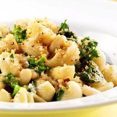 broccoli chickpeas and orechetti