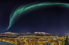Also known as the capital of the Arctic, Tromso is your next favorite holiday destination. The biggest city in the Northern Norway is the best place to admire the Aurora Borealis. Tromso, Aurora Borealis, 7 Natural Wonders, See The Northern Lights, Arctic Circle, Best Cities, Natural World, Wonders Of The World, Places To See
