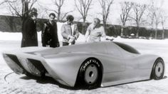 1987 Oldsmobile Aerotech Concept (clay model)