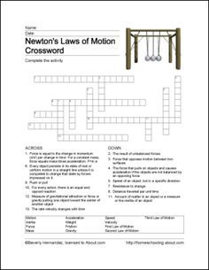 Newton's Laws of Motion: Newton's Laws of Motion Printables