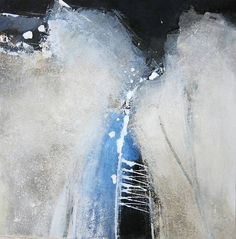 """Renate Migas, """"Kühler Morgen II"""" Mit einem Klick auf """"Als Kunstkarte versenden"""" versenden Sie kostenlos dieses Werk Ihren Freunden und Bekannten."""