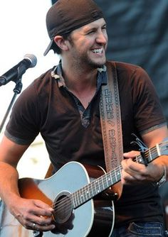 Luke Bryan - I mean really this guy could sing the alphabet and I would love it :-)