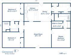 16 Best Metal Home Floor Plan Ideas Images Metal Homes Floor Plans