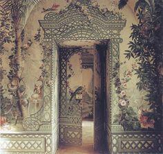 Empress Maria Theresa's summer rooms at Shonbrunn, orthe Goëss Apartment Photography by Fritz von der Schulenburg - World of Interiors