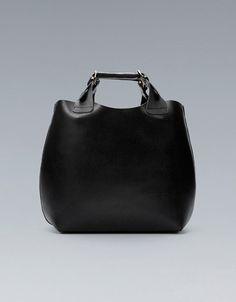 PLAITED SHOPPER - Large handbags - Handbags - Woman - ZARA United States