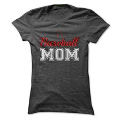 Awesome Baseball Lovers Tee Shirts Gift for you or your family member and your friend:  Baseball Mom Tee Shirts T-Shirts