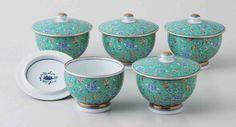 Tokyo Matcha Selection - [Value] Hasami Porcelain : Green Arabesque - Kyusu Tea pot