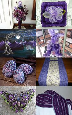Purple with a Purpose by Arleen Rexrode on Etsy--Pinned with TreasuryPin.com
