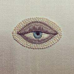 Картинка с тегом «eye, embroidery, and eyes»