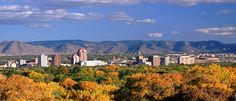 Albuquerque Skyline Autumn