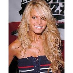 Create Wavy Hair Just Like Jessica Simpson - Polyvore