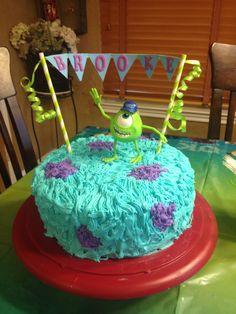 Brooke's Monster University Cake