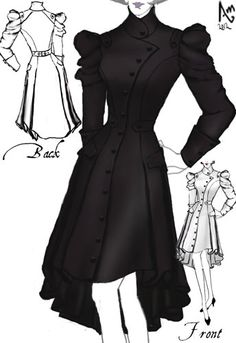 Victorian Trench Coat  -Amber Middaugh 2015 Standard Size $95.95 Plus Size $109.95