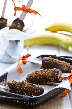 Frozen Chocolate Banana   Easy Japanese Recipe at Just One Cookbook