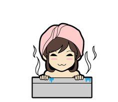 いい湯だなぁ #LINE #LINEスタンプ #LINEクリエイターズスタンプ #ただいま制作中 #cute #キュート #kawaii #かわいい #girl #girls #女の子 #女性 #イラスト #illust #illustration #art #manga #draw #drawing #artworks #doodle #graphic #creative [イラスト制作] http://anosorae.com/