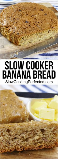 Delicious & Moist Slow Cooker Banana Bread - Slow Cooking Perfected
