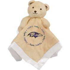 Baltimore Ravens Infant Bear Security Blanket