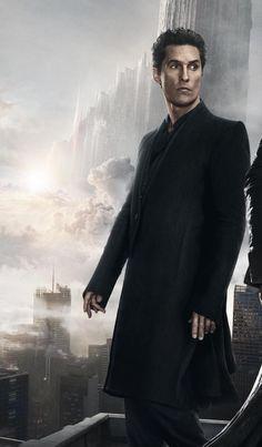 Matthew Mcconaughey On Dark Tower Poster