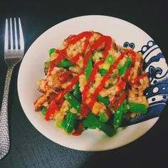 Hard Parade: Meatless Monday: Toasted Barley Salad with Tofu, Mushrooms, & Green Beans