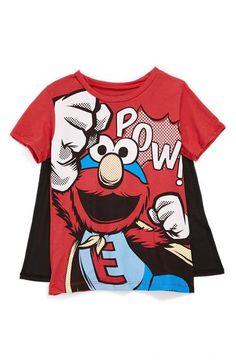 Elmo + Cape = Coolest shirt ever!