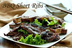 Asian Flavor Beef Short Ribs