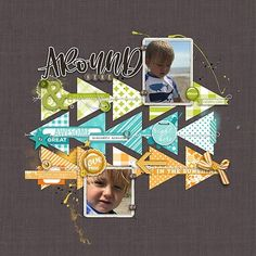 Look for color packet with different designs, same color. Merry Go Around 2018 12x12 Scrapbook, Digital Scrapbooking Layouts, Scrapbook Sketches, Scrapbook Page Layouts, Vacation Scrapbook, Yearbook Covers, Yearbook Spreads, Yearbook Design, Yearbook Theme