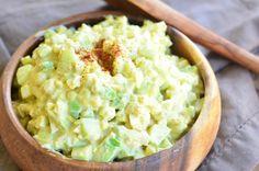 Avocado Cucumber Egg Salad 1 from willcookforsmiles.com