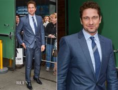 Great Example of How To . . . Gerard Butler makes us swoon twice in one day – lucky us.