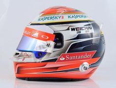 JEV's 2015 Ferrari Helmet