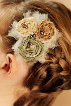 gorgeous headband idea