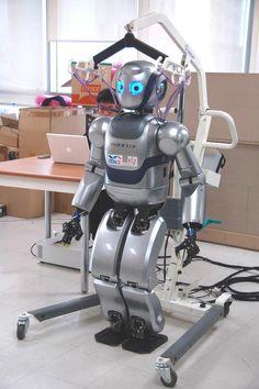 Comunicación digital-robots del presente y del futuro / Mahru III (Samsung)