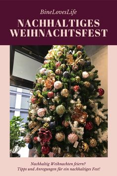 Christmas Tree, Holiday Decor, Zero, German, Change, Wrap Gifts, Diy Presents, Sustainable Gifts, Kid Recipes