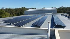 LG solar system for Tyre Network at Ormeau Solar Power System, Solar Panels, Commercial, Outdoor Decor, Design, Home Decor, Sun Panels, Decoration Home, Solar Energy System