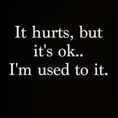 It hurts...But its not ok when you say you Love someone!!