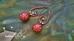 Pink Due Drop Earring