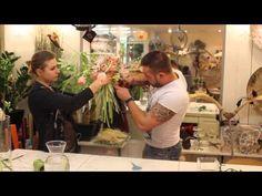 Мастер-класс Славы Роска: Свадебный букет на каркасе - YouTube