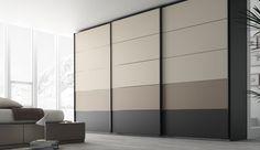 Armario puertas corredera 5 paneles combinables
