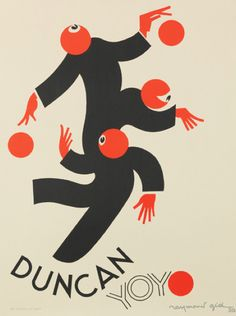By Raymond Gid (1905-2000), 1930, Duncan Yo-yo, Paris. Duncan yo-yos hit the market in 1929 and quickly became an international sensation.